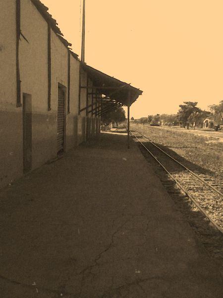 Estação de trem em Coroatá-MA