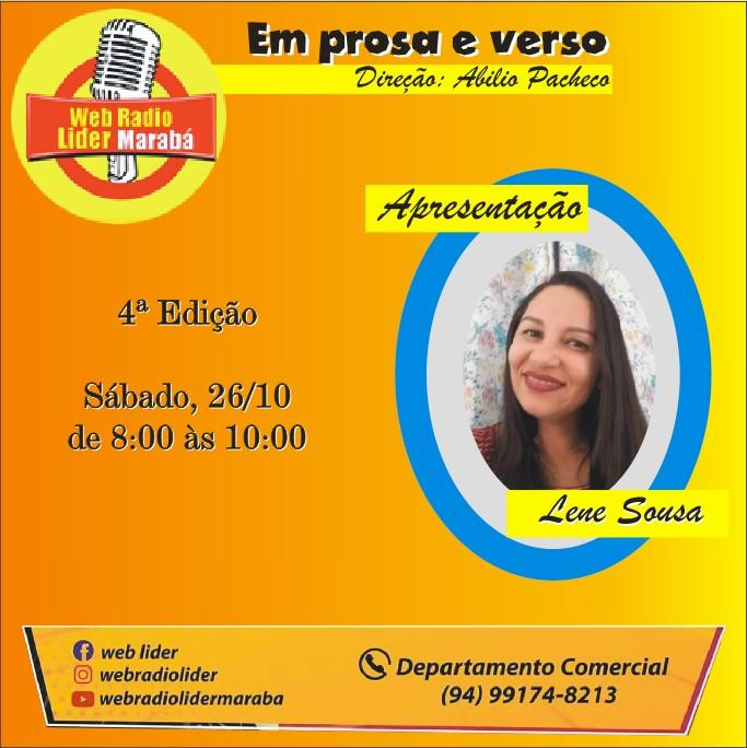EM PROSA E VERSO 26 10 2019 banner